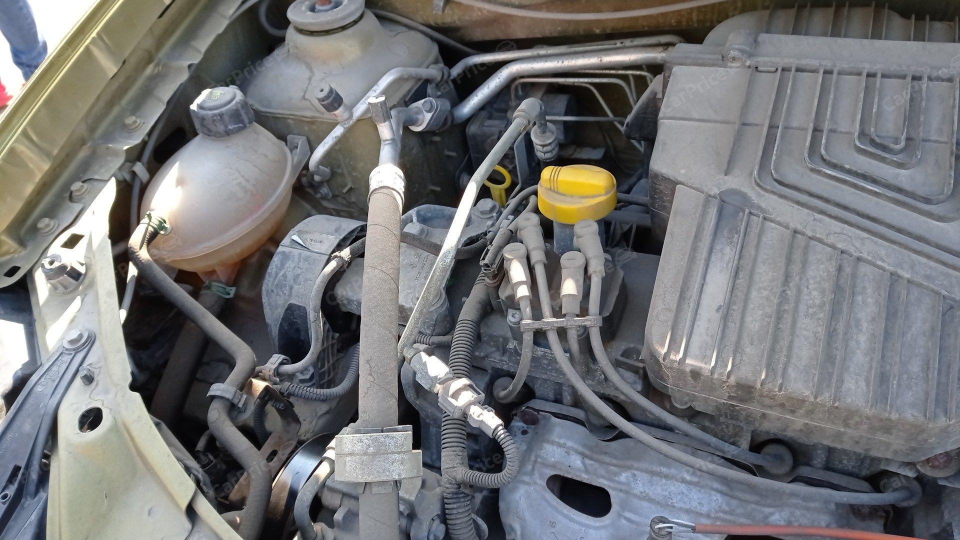 Элементы кузова в моторном отсеке